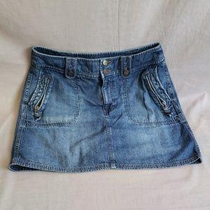 SONOMA Skorts Blue Size 10 Denim Cotton